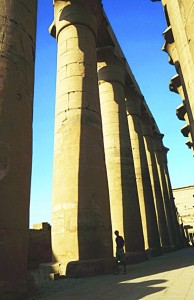 Tourists visit Luxor temple on the East Bank of Egypt's ancient city of Luxor on Nov 5. (AFP)
