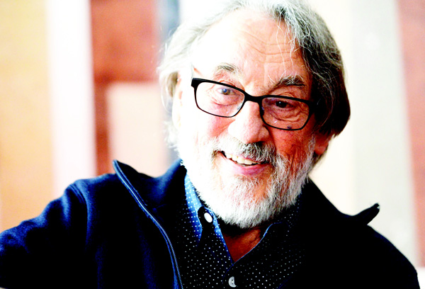 In this April 7, 2015 file photo, Hungarian born cinematographer Vilmos Zsigmond is interviewed by the Hungarian News Agency MTI in Budapest, Hungary. (AP)