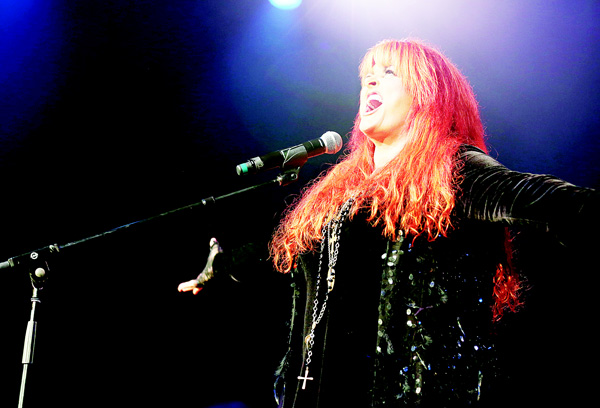 Artist Wynonna Judd performs at the Dylan Fest at Ryman Auditorium on May 23, in Nashville, Tenn. (AP)