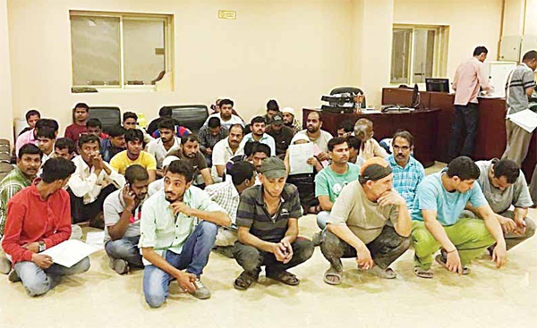 Some of the residence violators arrested