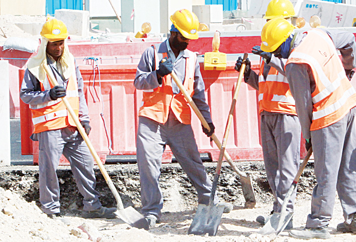 'Report workers toiling in the sun from 11am to 5pm' – Send video clips on 55643333