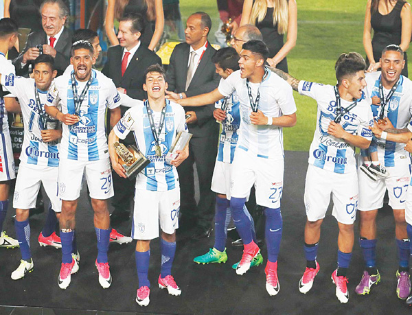 Pachuca lift CONCACAF title - S. America confed lose $140mn to graft - ARAB  TIMES - KUWAIT NEWS