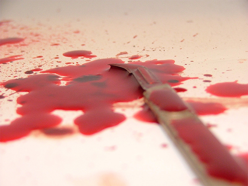 Image result for Indian stabs himself in Salmiya