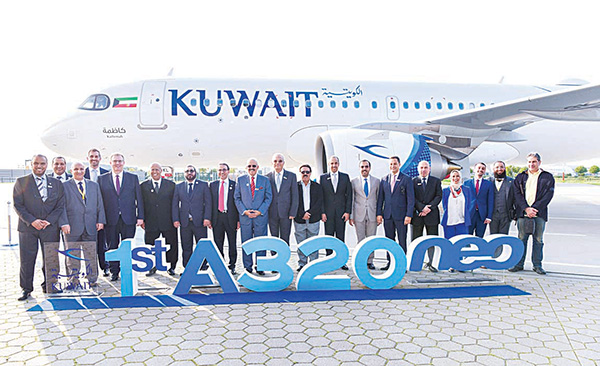 New Airbus 320neo an 'important moment' in KAC history: Al